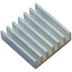 Aluminium Heat Sink-20x20x6mm, Радиатор для мини-компьютеров на базе чипов A10/A20 в корпусе BGA.
