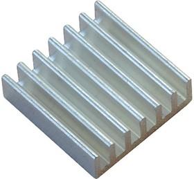 Aluminium Heat Sink-20x20x6mm, Радиатор для мини-компьютеров на базе чипов A10/A20 в корпусе BGA.