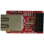 Фото 3/3 MOD-ENC28J60, Ethernet-модуль на основе ENC28J60 с интерфейсом UEXT и SPI