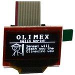 Фото 3/3 MOD-OLED-128x64, OLED Дисплей 128х64 пикселей с интерфейсом UEXT и I2C