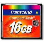 TS16GCF133, Флеш-накопитель Transcend 16GB CompactFlash 133X