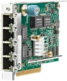 Фото 1/2 629135-B22, Плата коммуникационная HPE HP 1Gb Ethernet 4P 331FLR Adptr