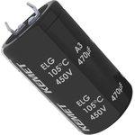 ELG108M160AR5AA, Электролитический конденсатор, фиксация защелкой, 1000 мкФ ...