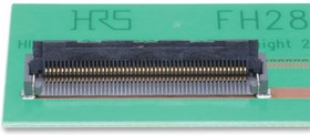 FH28-10S-0.5SH(98), FFC / FPC разъем, 0.5 мм, 10 контакт(-ов), Гнездо, Серия FH28, Поверхностный Монтаж, Низ