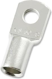 MC000770, Лепестковая клемма, Обжим, 0 AWG, 50 мм², Зажимной Лепесток, M8