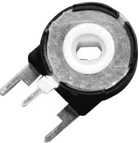 PT15NH05-103A2020-E-S, Подстроечный потенциометр, 10 кОм, 1 виток(-ков), Сквозное Отверстие, PT-15 Series, 250 мВт, ± 20%