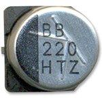 10TZV33M4X6.1, SMD электролитический конденсатор, Radial Can - SMD, 33 мкФ ...
