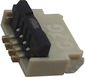 FH34SJ-4S-0.5SH(50), FFC / FPC разъем, 0.5 мм, 4 контакт(-ов), Гнездо, Серия FH34S, Поверхностный Монтаж, Верх