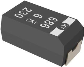 T525B476M006ATE080, Cap Tant Polymer 47uF 6.3VDC B CASE 20% (3.5 X 2.8 X 1.9mm) SMD 3528-21 0.08 Ohm 125°C T/R