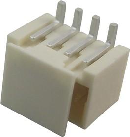 Фото 1/2 87437-0463, Разъем типа провод-плата, 1.5 мм, 4 контакт(-ов), Штыревой Разъем, Pico-SPOX 87437 Series