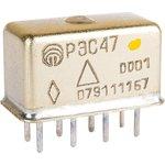 РЭС47 РФ4.500.407-01.01 (12В), Реле электромагнитное