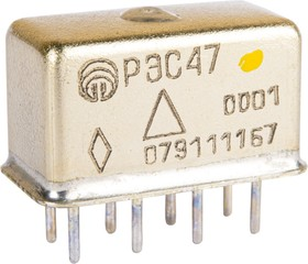 Фото 1/3 РЭС47 РФ4.500.407-00.01 (27В), Реле электромагнитное