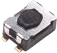 Фото 1/2 KMR231NG ULC LFS, Switch Tactile N.O. SPST Button Gull Wing 0.05A 32VDC 1VA 150000Cycles 3N SMD Automotive T/R