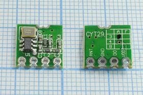 Беспроводной модуль (RF модуль), SMD передатчик 315МГц, 14299 конст ППУ\Передатчик_315МГц\ CYT29-ASK&OOK-315W\CY