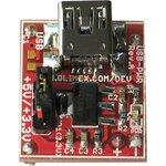 Фото 2/3 USB-PWR, USB блок питания форм-фактора Breakboard, Uвых=3.3В или 5В