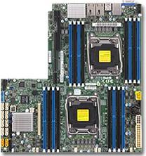 Серверная материнская плата SUPERMICRO MBD-X10DRW-I-O, Ret