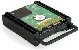 """Фото 1/2 HDB-252A, Кронштейн (корзина) 2X2.5"""" HDD/SSD (для монтажа в 3,5"""" отсек)"""