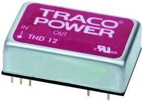 THD 12-4812WI, Module DC-DC 48VIN 1-OUT 12V 1A 12W 9-Pin DIP