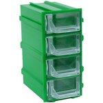 К5 Зеленый, Ячейки, зеленый корпус прозрачный контейнер 4 ...