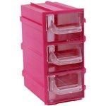 К4 Красный, Ячейки, красный корпус прозрачный контейнер 3 ...