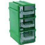 К4 Зеленый, Ячейки, зеленый корпус прозрачный контейнер 3 ...