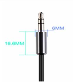 Фото 1/5 UG-10585, Кабель аудио 2.0m jack 3,5mm/jack 3,5mm AM/AM, UGreen, черный, 28 AWG, экран, стерео
