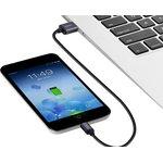 Фото 5/8 UG-10827, Кабель интерфейсный USB 2.0 3.0m Premium UGreen, AM / microB 5pin, 28 / 24 AWG экран, черный, сереб