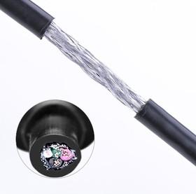 Фото 1/6 UG-10355, Кабель интерфейсный USB 2.0 1.0m Premium UGreen AM / mini 5P, 28 / 24 AWG экран, черный