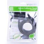 Фото 4/8 UG-10815, Удлинитель USB 2.0 1.5m AM/AF + подставка UGreen белый