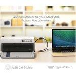 Фото 2/2 UG-30180, Кабель интерфейсный USB Type C 1.5m CM / USB 2.0 BM, UGreen черный