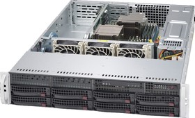 "Платформа SuperMicro SYS-6028R-TR x8 3.5"" C612 1G 2P (SYS-6028R-TR)"