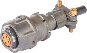 Фото 1/7 2РМТ14КПН4Г1В1В, Розетка на кабель с прямым патрубком для неэкранированного кабеля