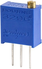 Фото 1/6 3296W-1-102LF (СП5-2ВБ), 1 кОм, Резистор подстроечный