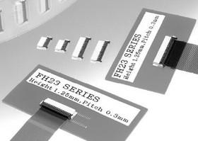 Фото 1/2 FH23-39S-0.3SHW(05), Conn FPC Connector SKT 39 POS 0.3mm Solder RA SMD T/R