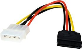 Кабель питания SATA CC-SATA-PS, 15см, 4pin/15pin, пакет