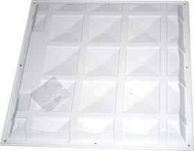 Корпус для армстронга, ударопрочный АБС пластик 1.2 мм, 595x595x45 мм
