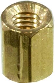 PCHSS- 6, стойка латунная для печатной платы М3 шестигранная