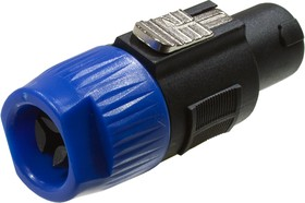 1-580, разъем speacon штекер пластик на кабель 68.0мм | купить в розницу и оптом