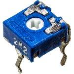 Фото 2/2 CA6V, 2.2 МОм, Резистор подстроечный