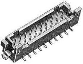 DF11GZ-16DP-2V(20), Conn Shrouded Header HDR 16 POS 2mm Solder ST SMD Tube