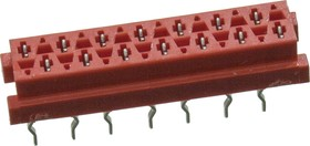 Micro-Match-14 розетка на плату прямая 1.27мм 1-215079-4