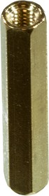 PCHSS-25 mm М3,латунь,шестигр.стойка для п/плат