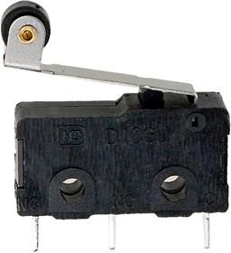 SM5-05P-45G-G микропереключатель с лапкой 250В 5A