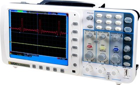 SDS6062V, 2кан. 60МГц 500Мв/с осциллограф с VGA вых.