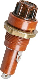 ДВП4-4, держатель предохранителя (карболит) (89-92г.)