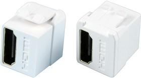 KCHDWHEP, Адаптер в линию, HDMI, HDMI, Переходник, Встраиваемый в Линию, Гнездо, 1 вывод(-ов)