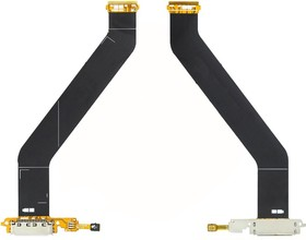 Фото 1/2 Шлейф для Samsung Galaxy Tab 2 10.1 P5100 с разъемом зарядки, микрофоном