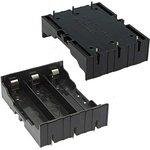 Battery Holder for Li-ion 3X18650