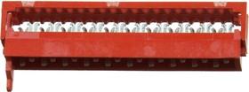 Micro-Match-20 вилка на шлейф 1.27мм 2-215083-0