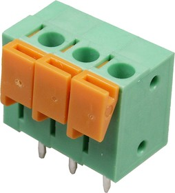 DG142V-03P-14 клеммник нажимной 3к,5.08мм (DG142V-5.08-03P)